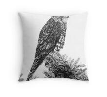 MERLIN (Bird of Prey) Throw Pillow