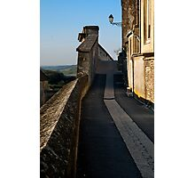 Road on the Ramparts Photographic Print
