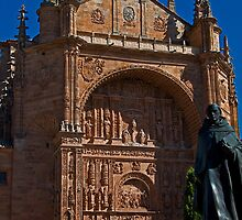 Spain. Salamanca. San Esteban Church. by vadim19