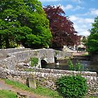 Across Sheepwash Bridge, Ashford-in-the-Water  by Rod Johnson