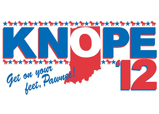 Vote 4 Knope by Sireeky