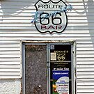 Route 66 - Bernie&#x27;s Bar by Frank Romeo