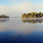 Autumn Stillness, Lac Bernard, PQ by Kris  Kennedy
