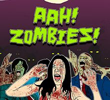 AHH!! Zombies!! by HamSammy