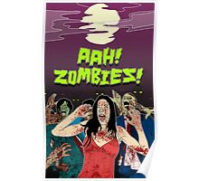 AHH!! Zombies!! Poster