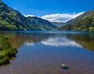 Upper Lake at Glendalough by Yukondick