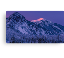 First Light at Snoqualmie Pass Canvas Print