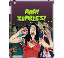 AHH!! Zombies!! iPad Case/Skin