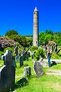 Round Tower at Glendalough by Yukondick