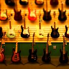 tiny guitar collection by tinncity
