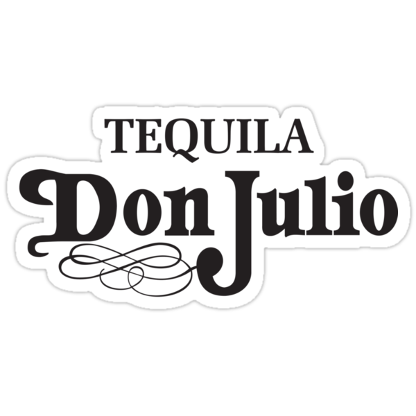 Don Julio Tequila T-shirt by Michael Sundburg
