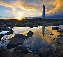 Barns Ness Sunset by Allan Kelly