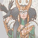 Lady Loki Hipster by Medusa Dollmaker