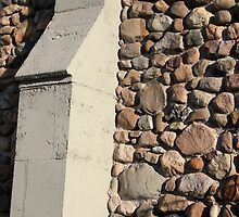 Church Buttress with Shadow by marybedy