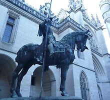 Knight at Pierrefonds, by vulcanluver
