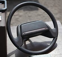 Old Steering Wheel by mrivserg