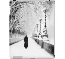Figures in the Snow  iPad Case/Skin