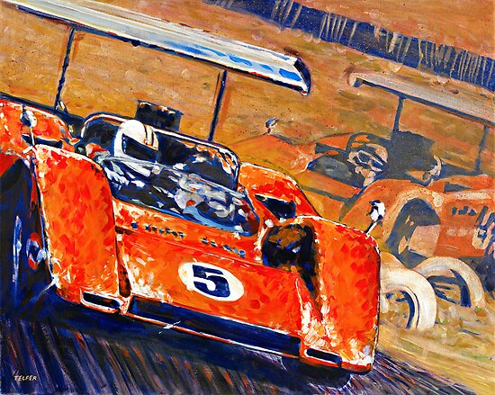 'Two McLaren's - Can-Am Champions' Vintage Racing by Kelly Telfer