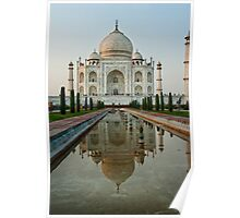 The Taj Mahal at Twilight Poster