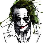 The Joker. by LiamShawberry