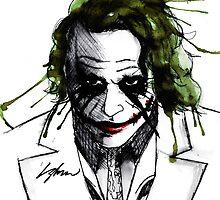 The Joker. by LiamShawberry