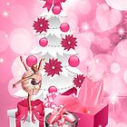A Ballerina's Christmas - Card by Doreen Erhardt