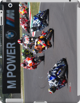 Start of the Mugello MotoGP Race 2011 by corsefoto