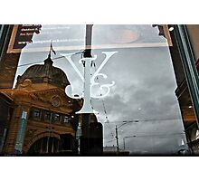 Icons in Reflection Photographic Print