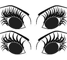 Mix Set Of Eyes 3 by Nhan Phan