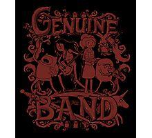 Genuine Band Photographic Print