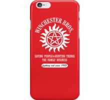 SUPERNATURAL - WINCHESTER BROS. iPhone case iPhone Case/Skin