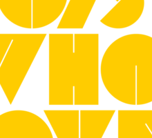 I Love Boys Who Love EDM (Electronic Dance Music) [Mustard] Sticker