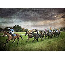 The Run In Photographic Print