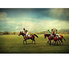 Ready To Race Photographic Print