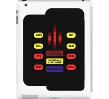 Knight Rider KITT Car Dashboard Graphic iPad Case/Skin