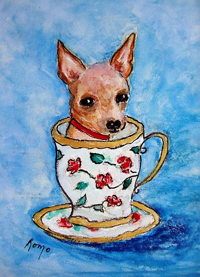 Teacup... by Robin Monroe