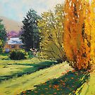Autumn Poplars Carcor by Graham Gercken