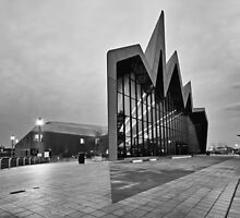 Glasgow Riverside Transport Museum by Maria Gaellman