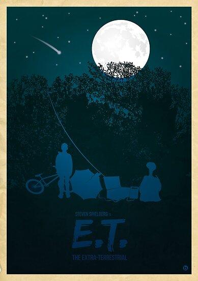 Steven Spielberg's E.T. by AlainB68
