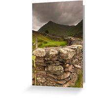 Lake District Cumbria Greeting Card