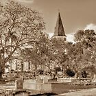 St. Matthew's Anglican Episcopal Church and Eastern Cemetery in Nassau, The Bahamas by 242Digital