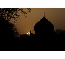 Sunset in India Photographic Print