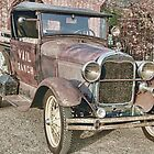 Vail Ranch Model A pickup by WildBillPho