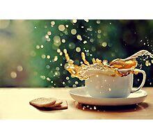 coffee splash! Photographic Print