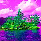 Psychedelic Rock Island by podspics