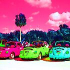 Psychedelic Cars by podspics