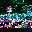 Glowing Cars by podspics