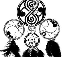 Gallifreyan Dream Catcher by undesirable
