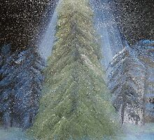 """""""Christmas Tree""""  by Carter L. Shepard by echoesofheaven"""