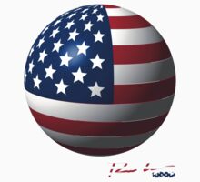 Ron Hedges - Flag Ball by Hedges Creations